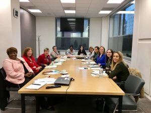 Women in Wales For Europe Network Meeting at the Ty Hywel