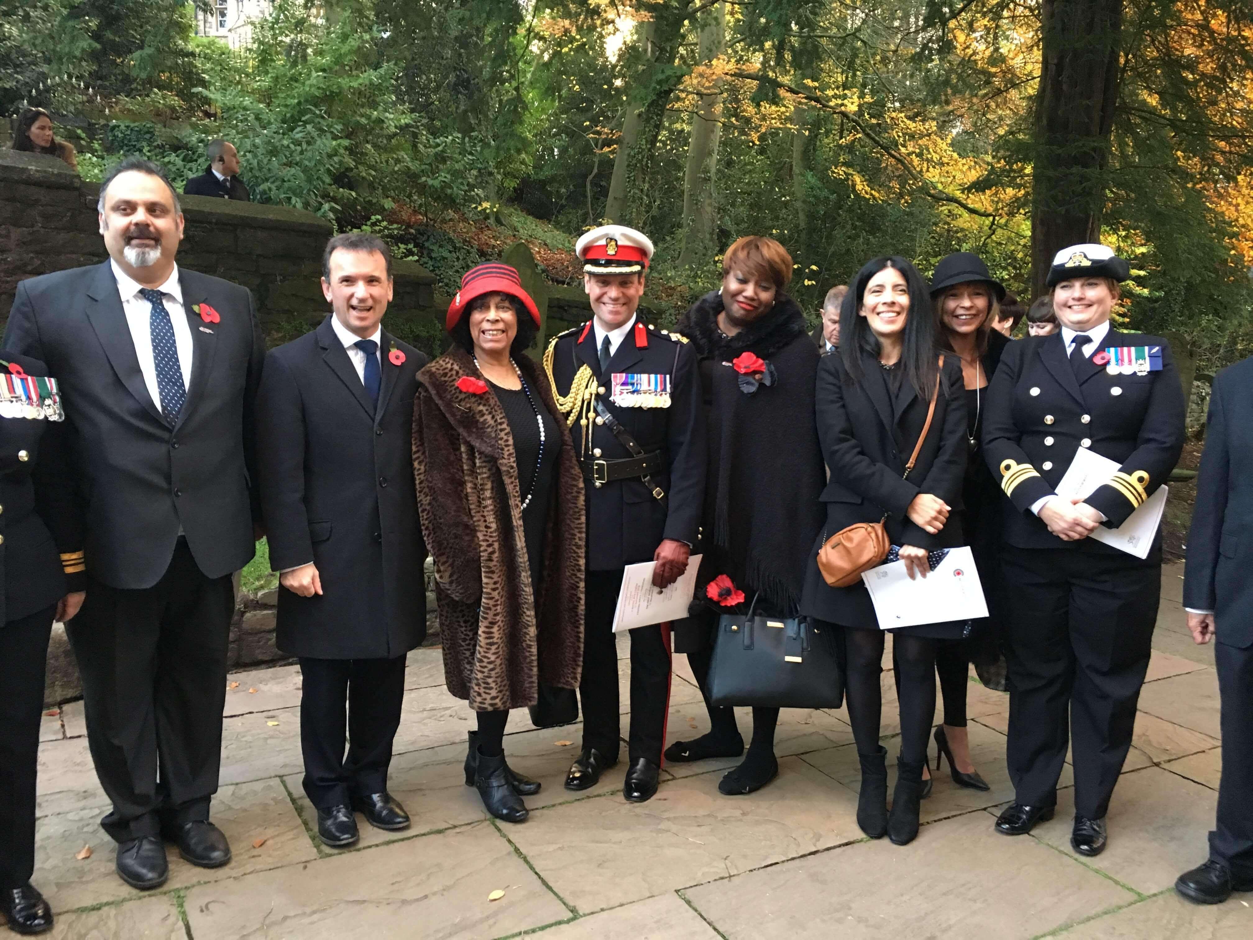 race council cymru windrush cymru elders 2019 visit to arboretum dday img1