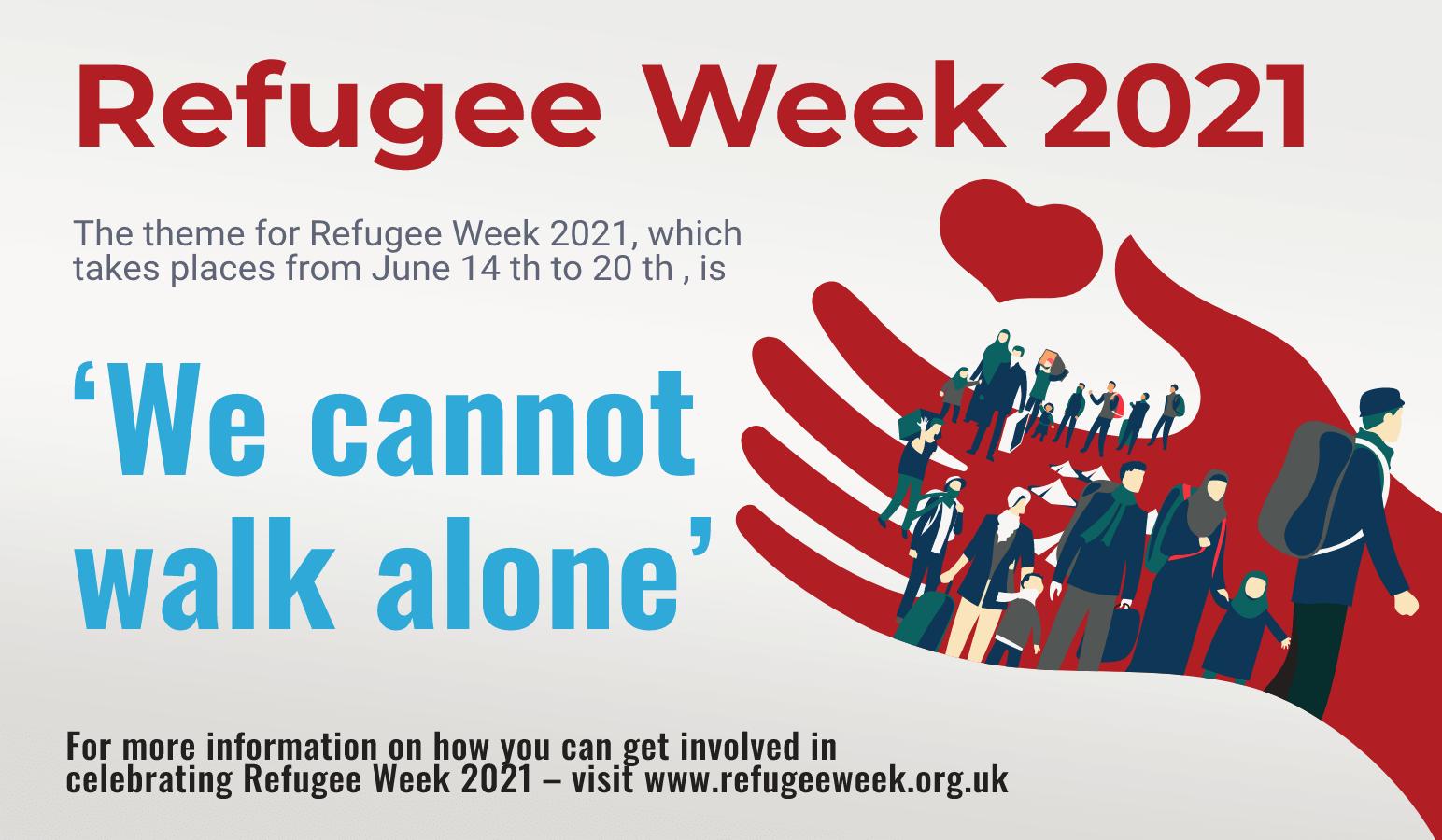 Refugee Week 2021 race council cymru
